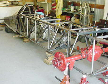 Bonneville car construction index page for harv 39 s lakester for Construction bonneville
