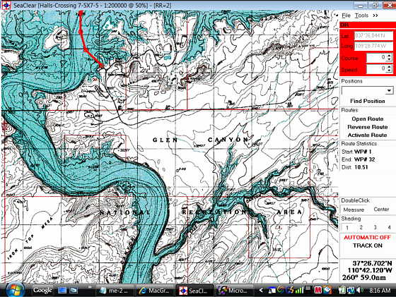 Nautical Charting Software