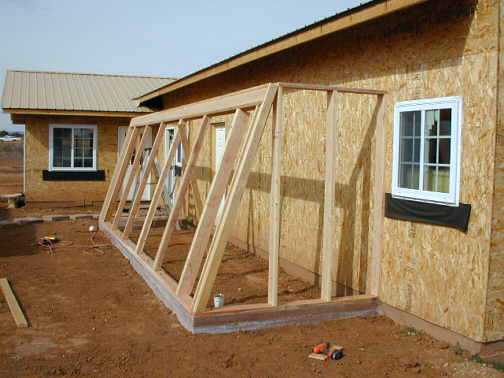New house construction page 16 for House plans with greenhouse attached