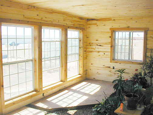 New house construction page 42 for Cedar sunroom