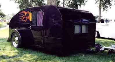 Teardrop Trailer Construction and Teardrop Construction Pictures