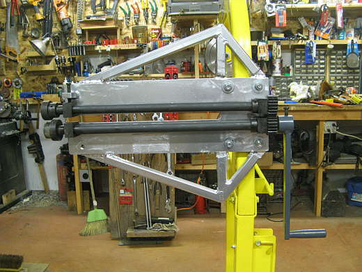 Bead Roller Stand Reinforced Bead Roller on